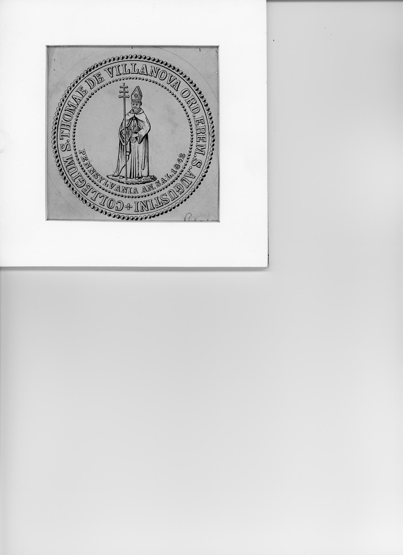Second Villanova College Seal