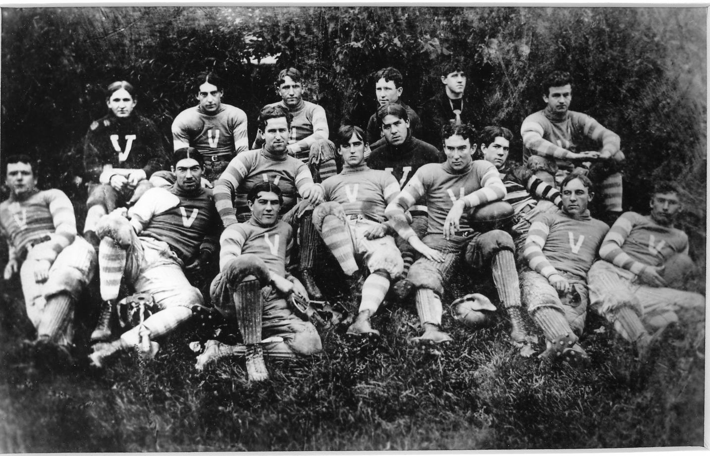 Villanova�s football team, 1896