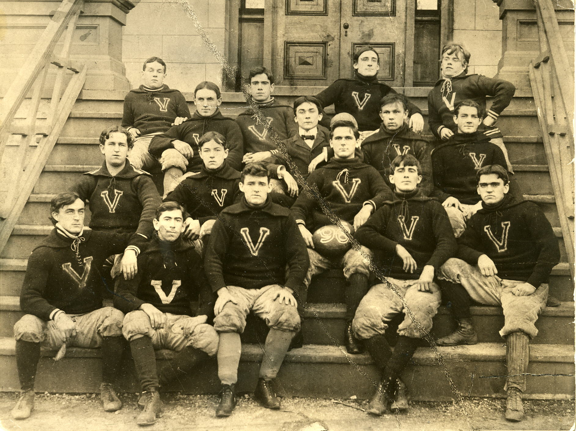 Villanova varsity football team, 1896
