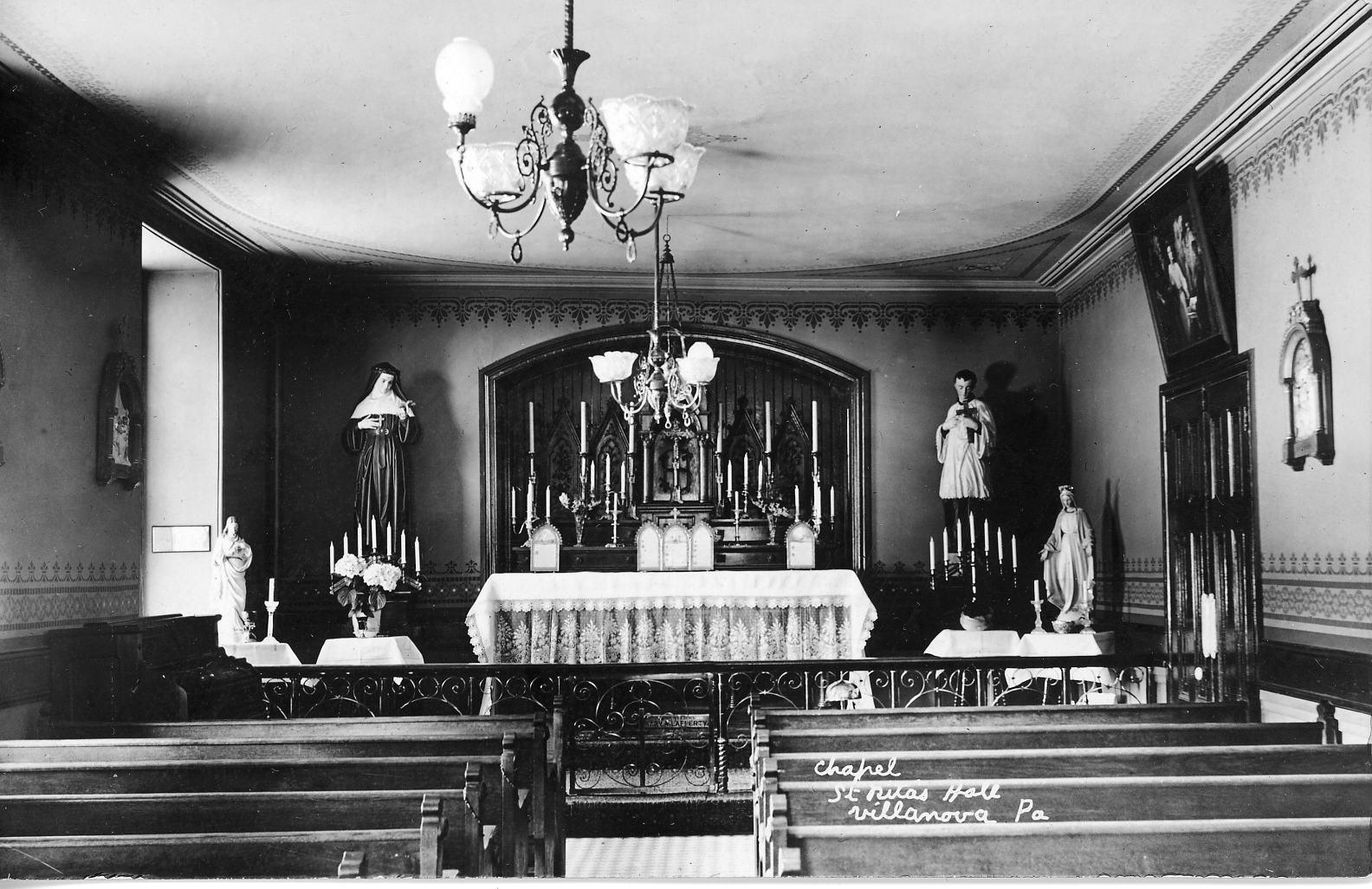 Saint Rita�s Hall Chapel, 1918
