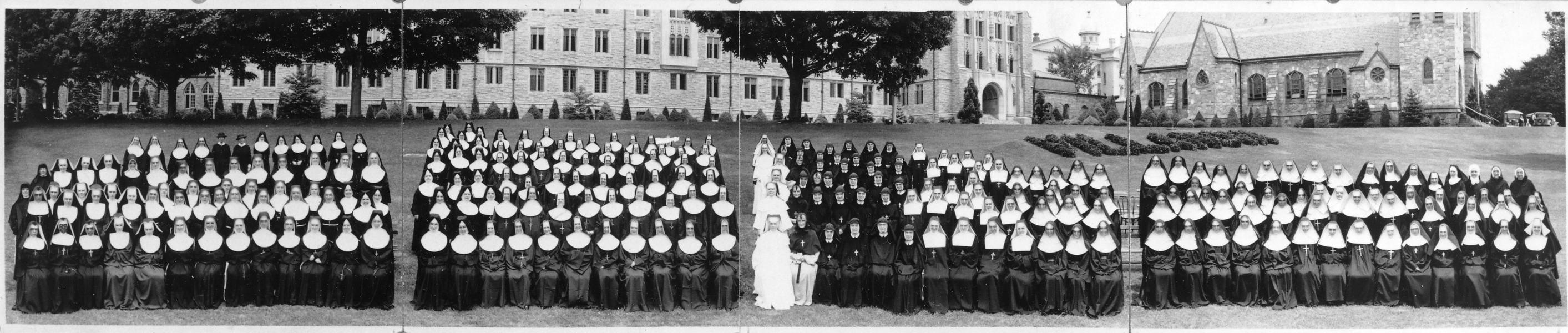 Nuns at Villanvoa Summer School