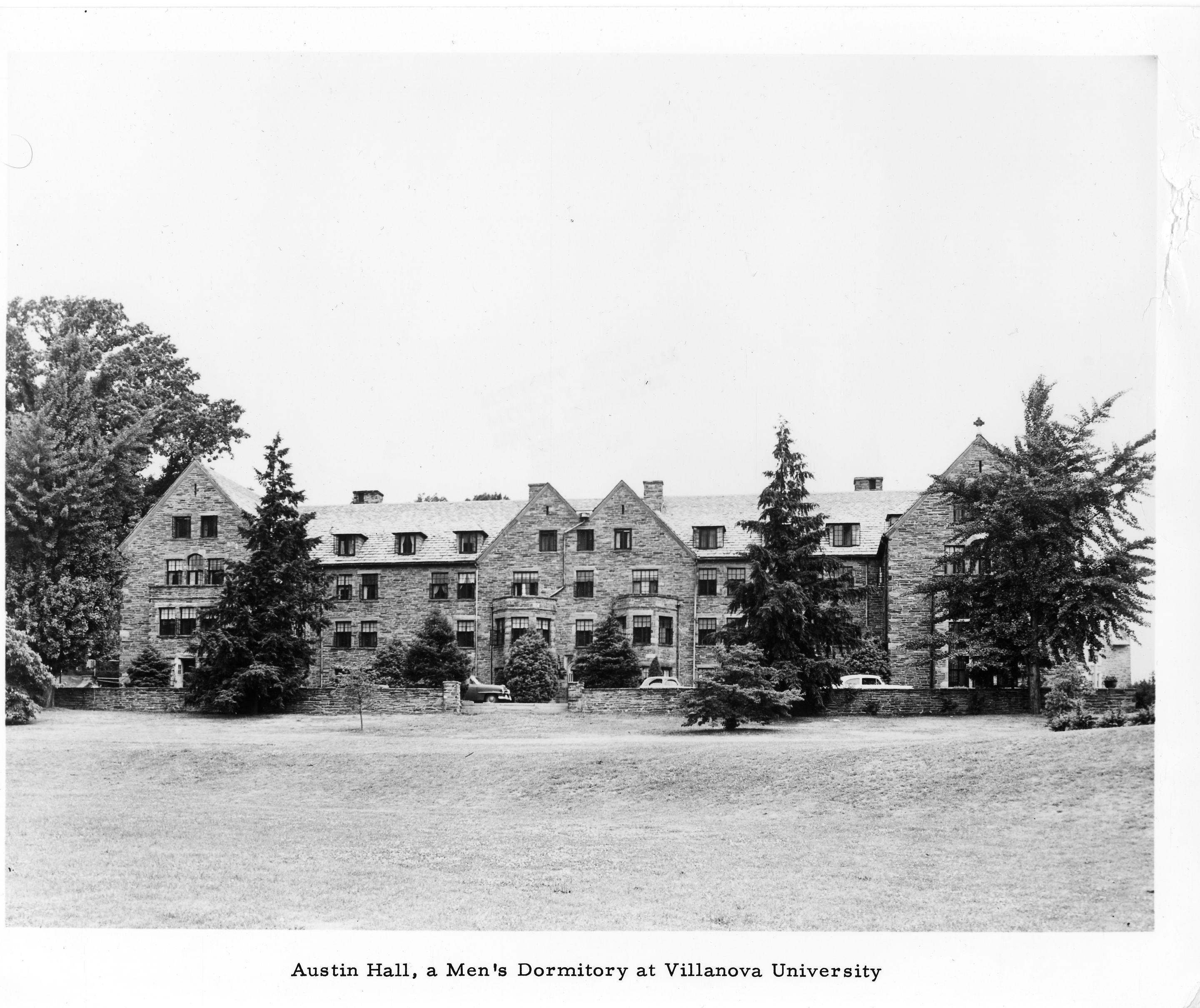 Austin Hall, completed in 1924