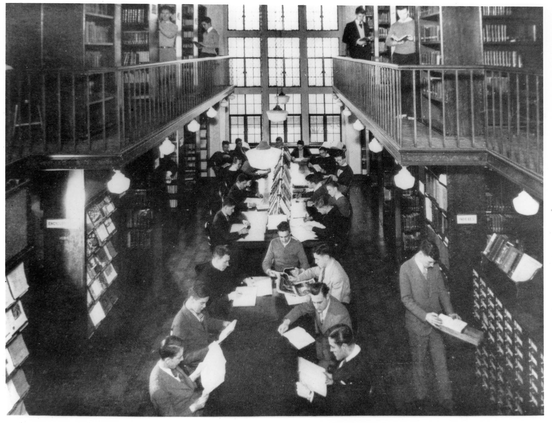 The Old Villanova College Library