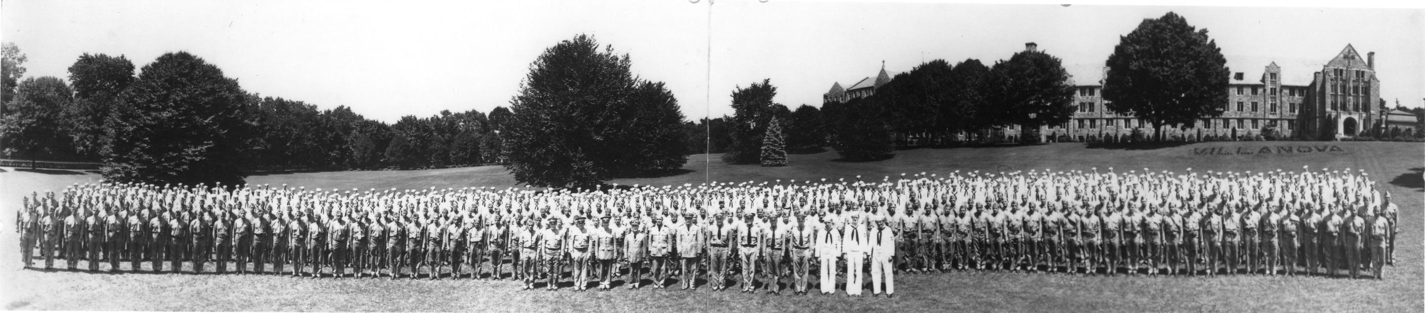 Navy V-12 students
