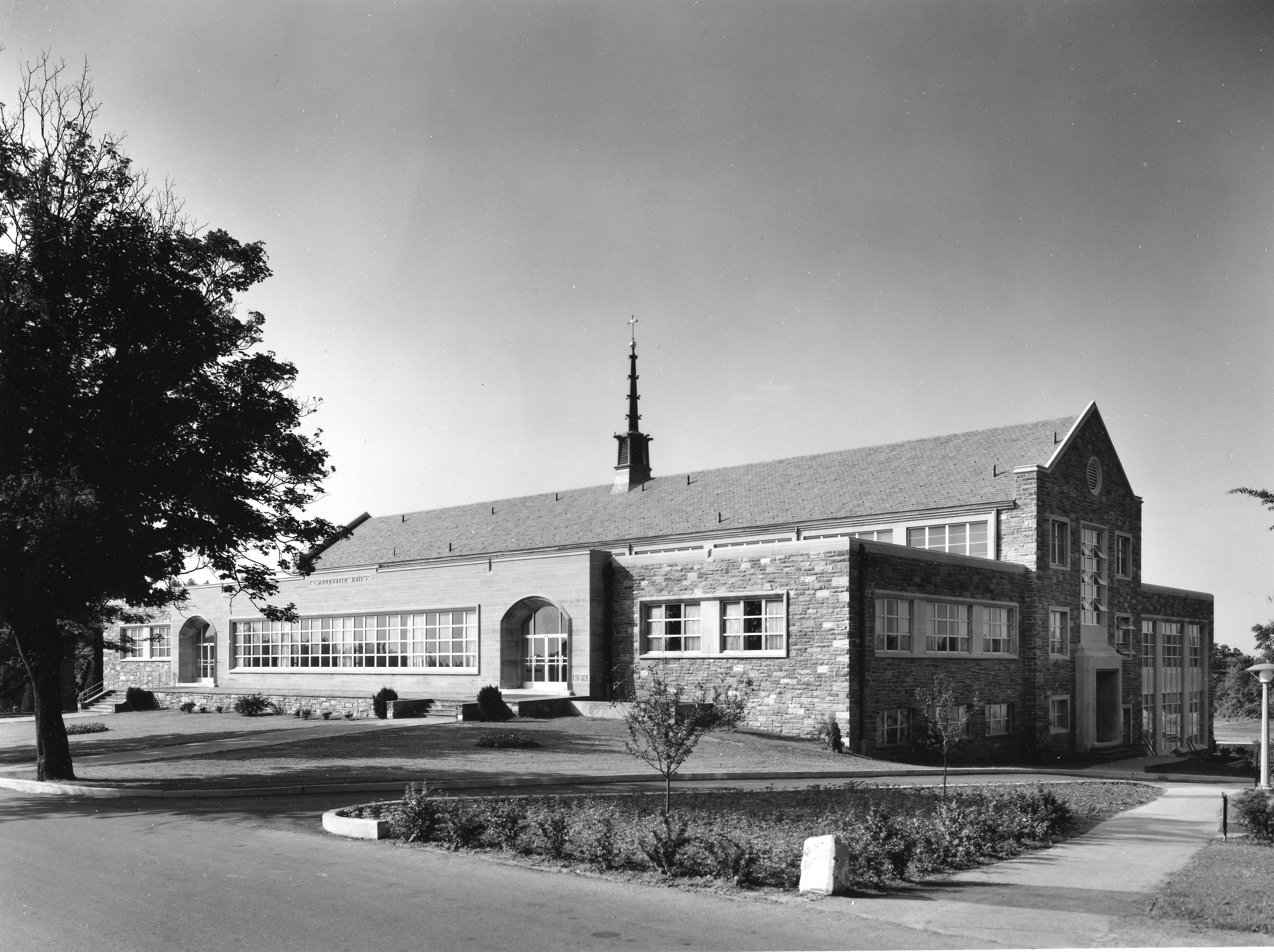 Dougherty Hall built in 1954