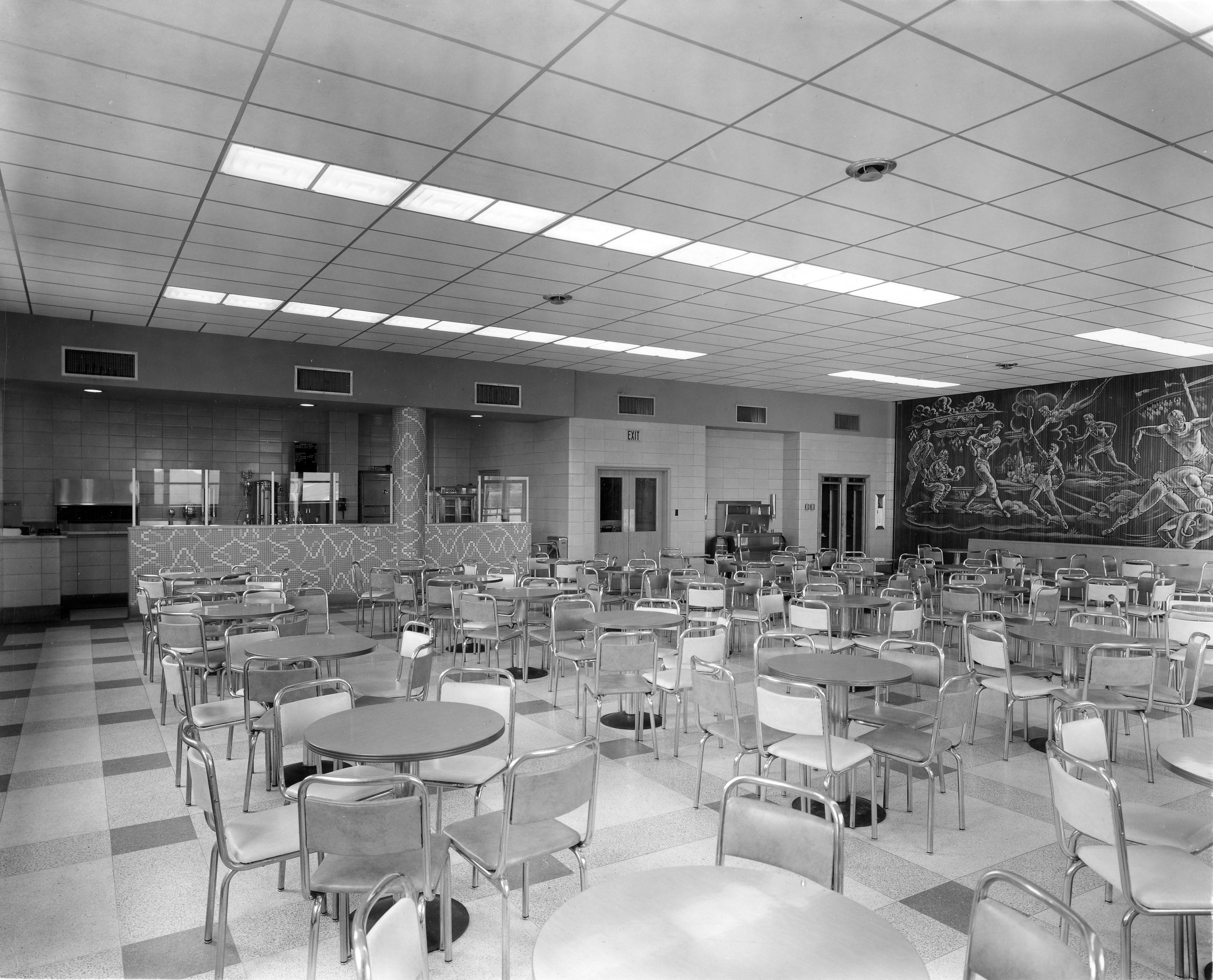 "The ""Pie Shop"" in Dougherty Hall, 1955"
