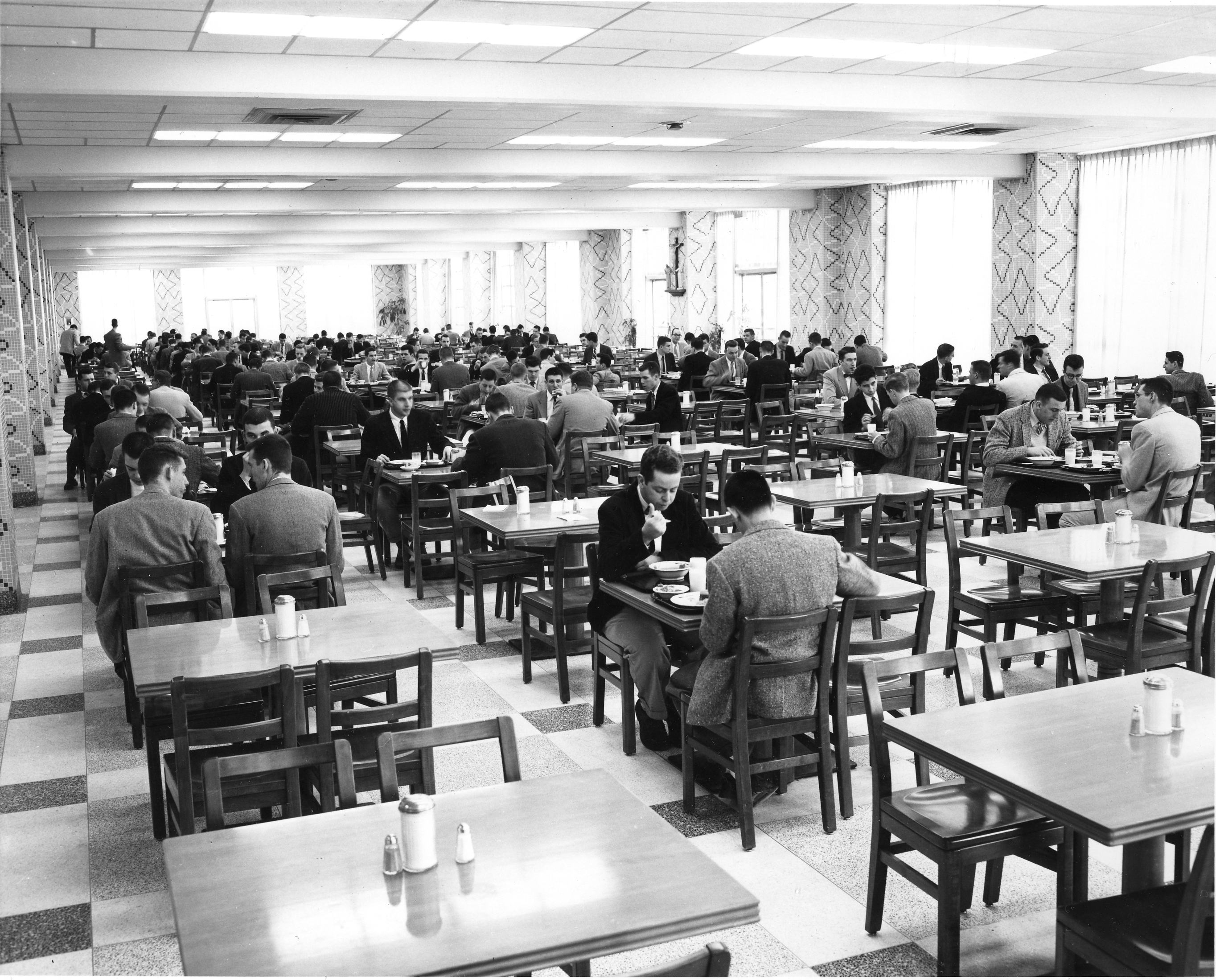Dougherty Hall dining room