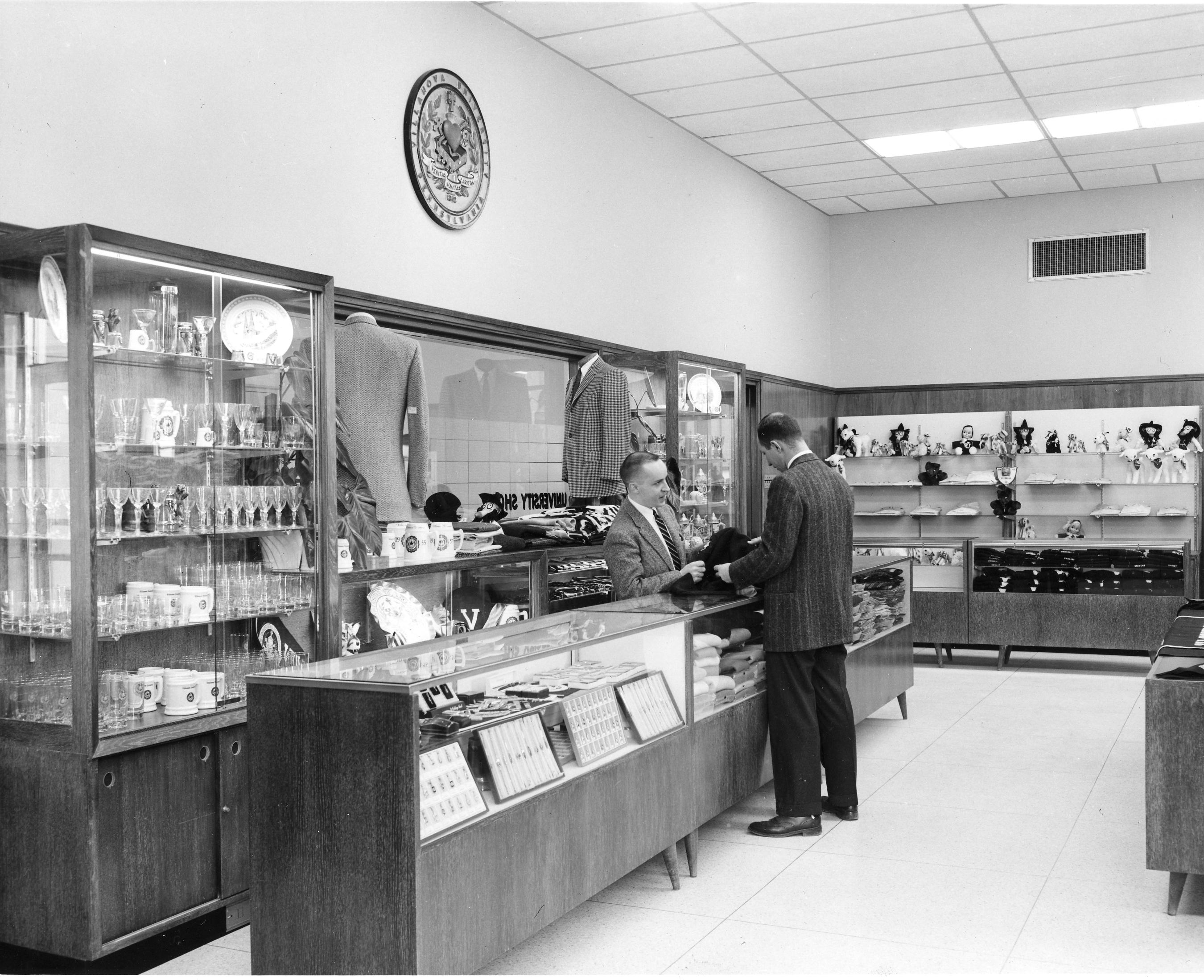 College Store in Dougherty Hall, 1955