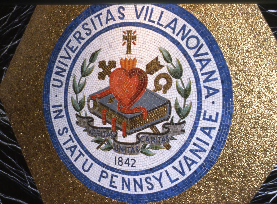 Villanova University Seal, adopted 1953
