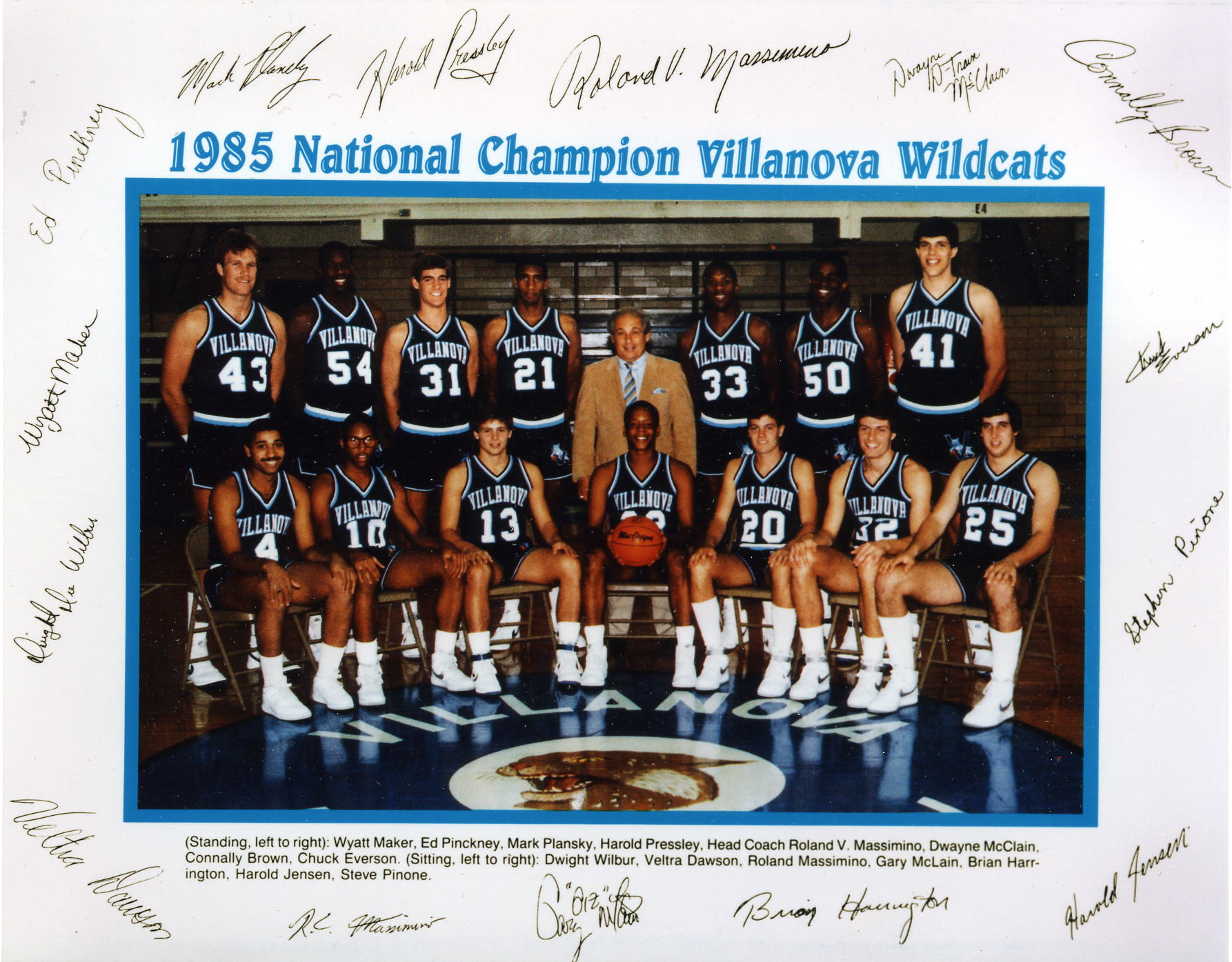 1985 National Champion Villanova Wildcats