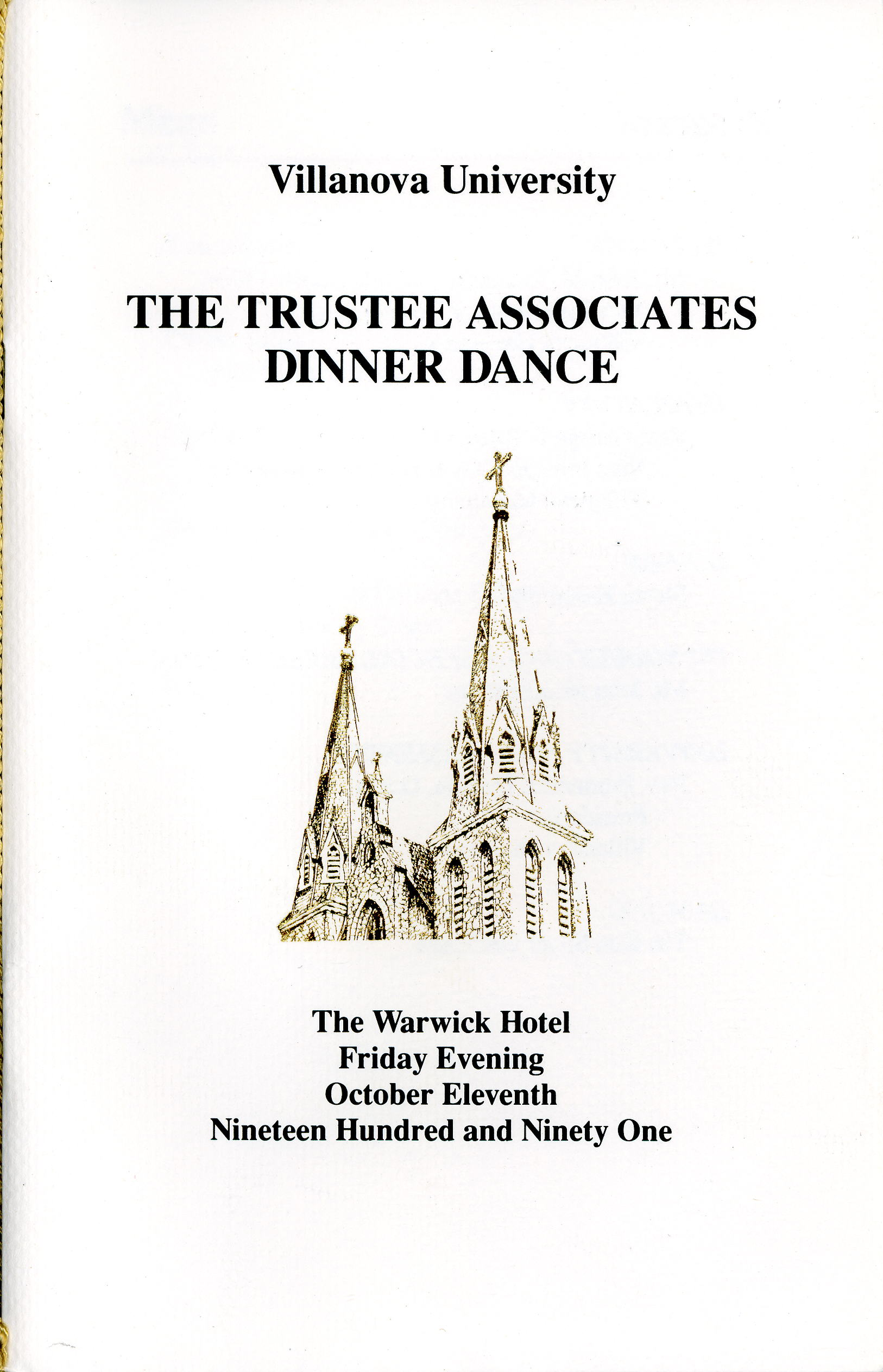 Villanova Trustee Associates Dinner Dance
