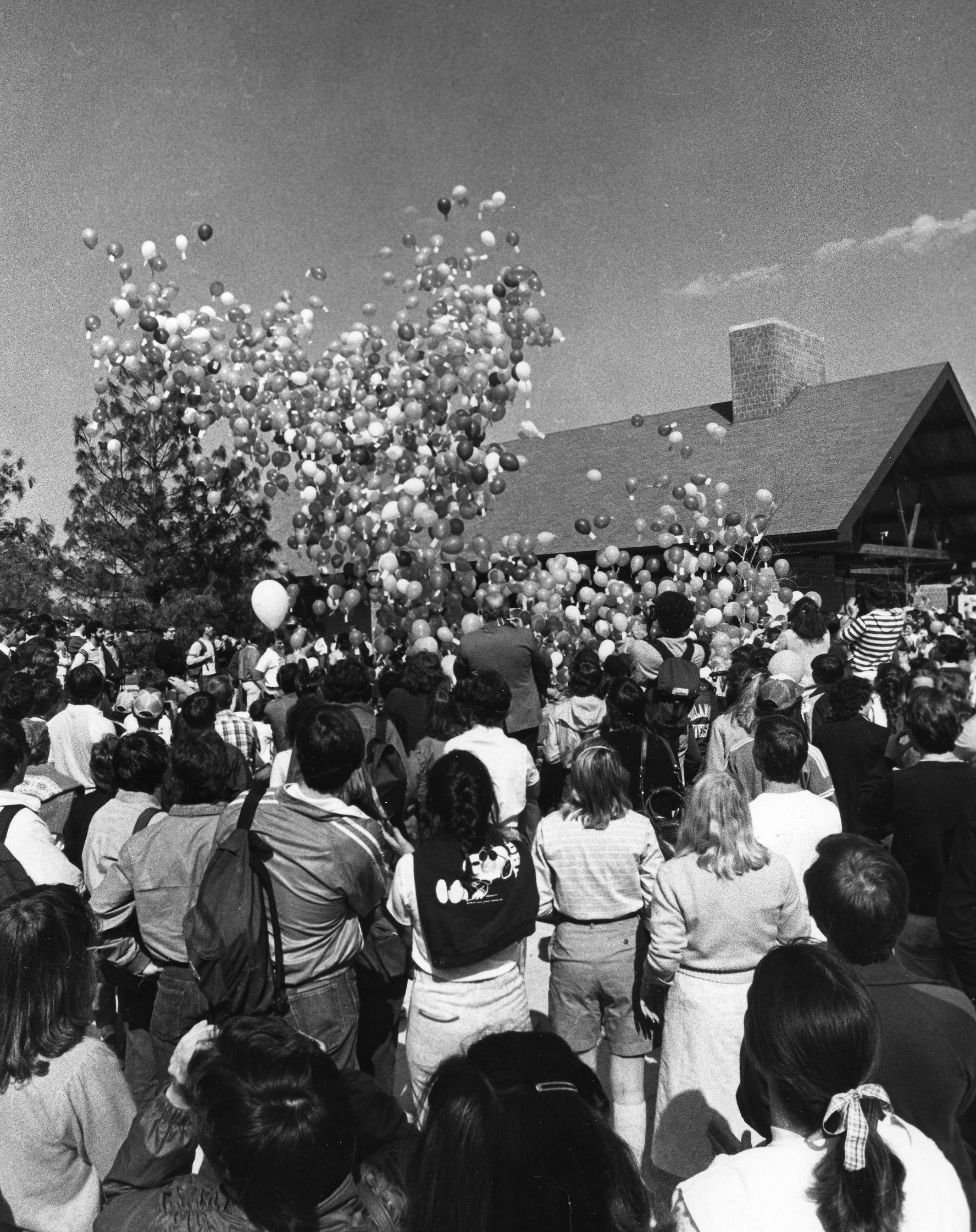 Balloon Day, April 22, 1982.