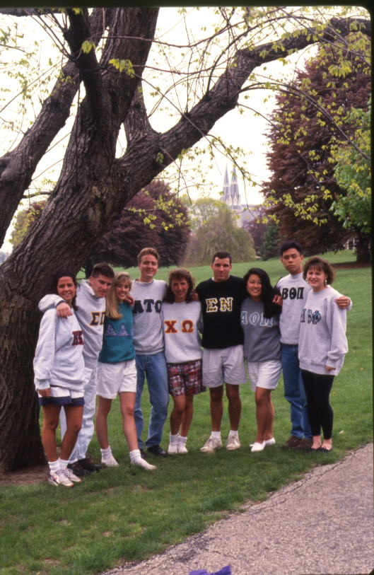 A few members of Villanova�s sororities and fraternities